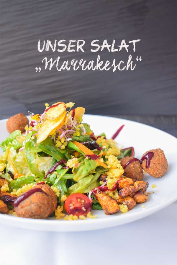 Salat Marrakesch-Tafel